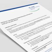 Infoblatt zur Gaumennahterweiterungs-Apparatur (GNE) mit Delaire-Maske