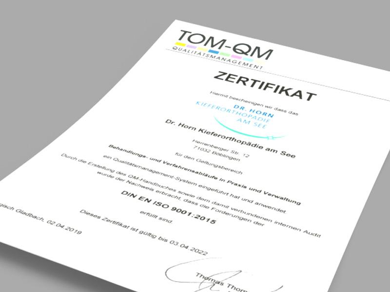 Einführung und Anwendung eines Qualitätsmanagement-Systems die Forderungen nach DIN EN ISO 9001:2015